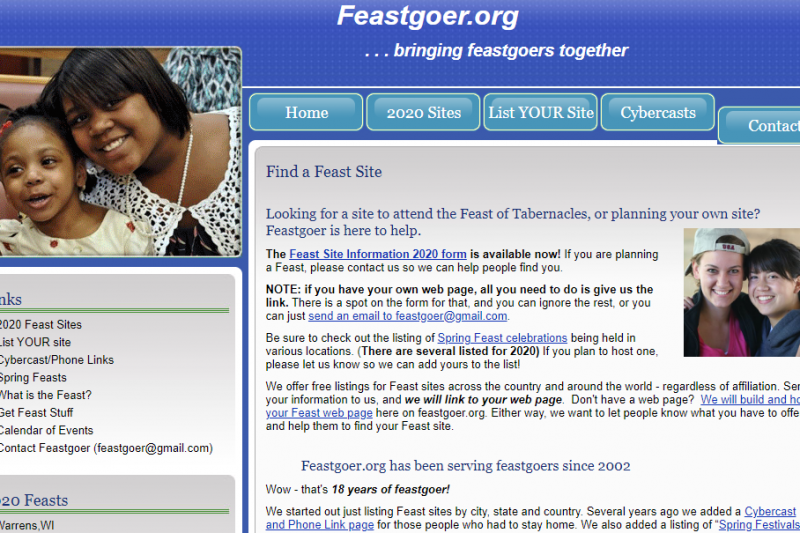 Resource of the Month – Feastgoer.org